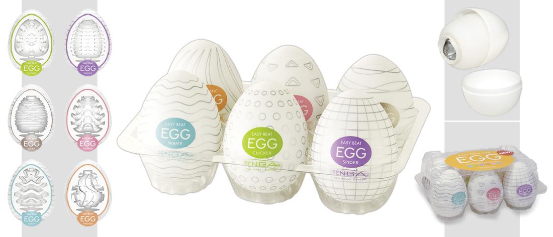 TENGA Egg Variety - vajíčko na orgazmus (6 ks)