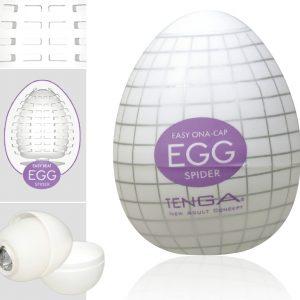 TENGA Egg Spider vajíčko na orgazmus (masturbátor)