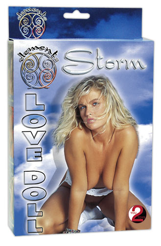 You2Toys Love Doll Storm - nafukovacia panna