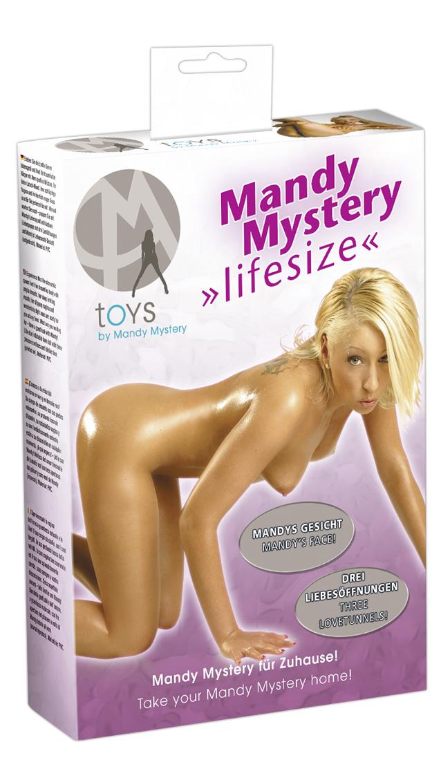 Mandy Mystery Lifesize Mandy - nafukovacia panna