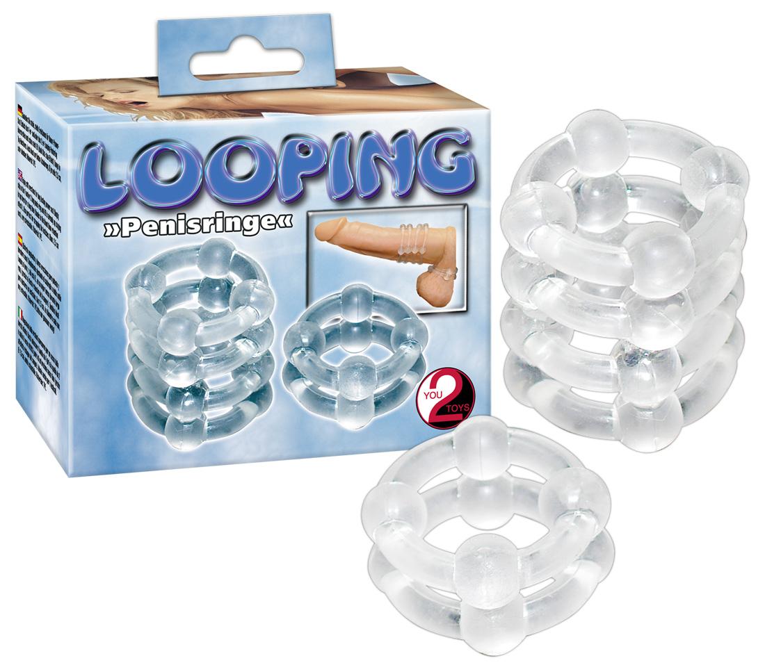 You2Toys Looping Penisringe - krúžky na penis (2 dielna súprava)