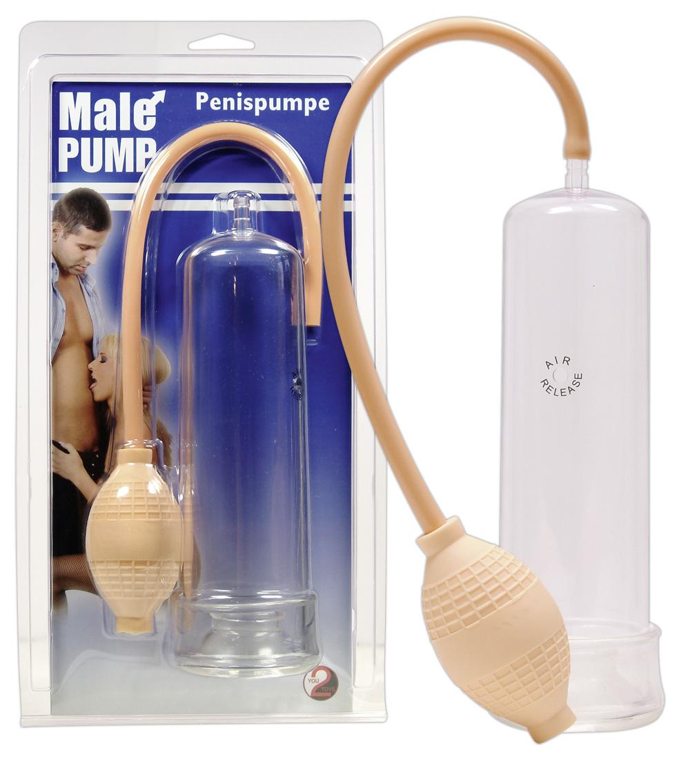 You2Toys Male Pump - vákuová pumpa na penis