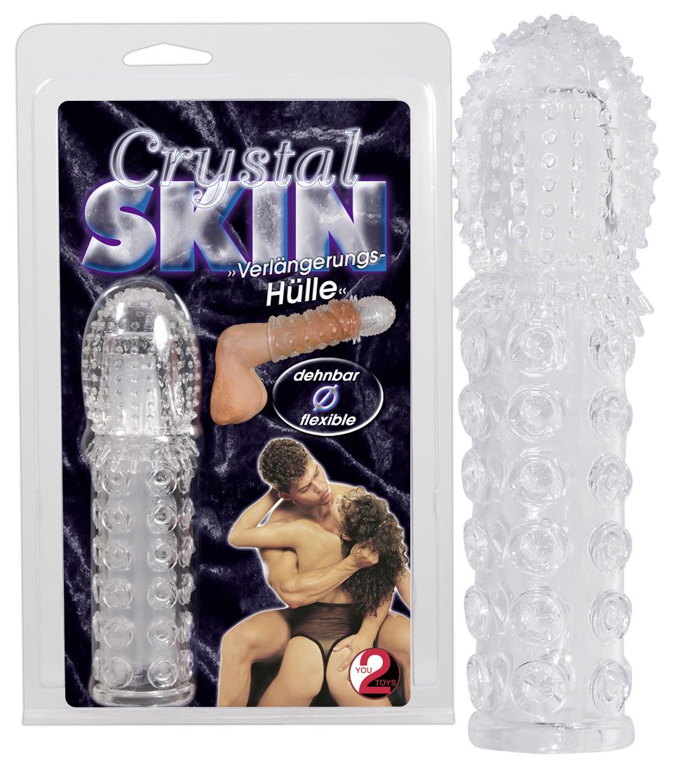 You2Toys Crystal Skin - návlek na penis (15 cm)