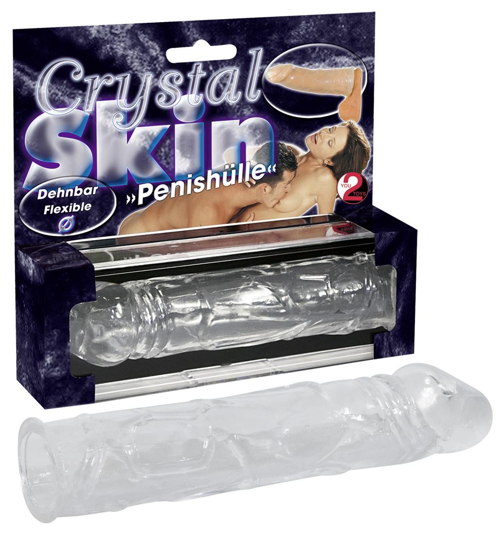 You2Toys Crystal Skin - návlek na penis (16 cm)