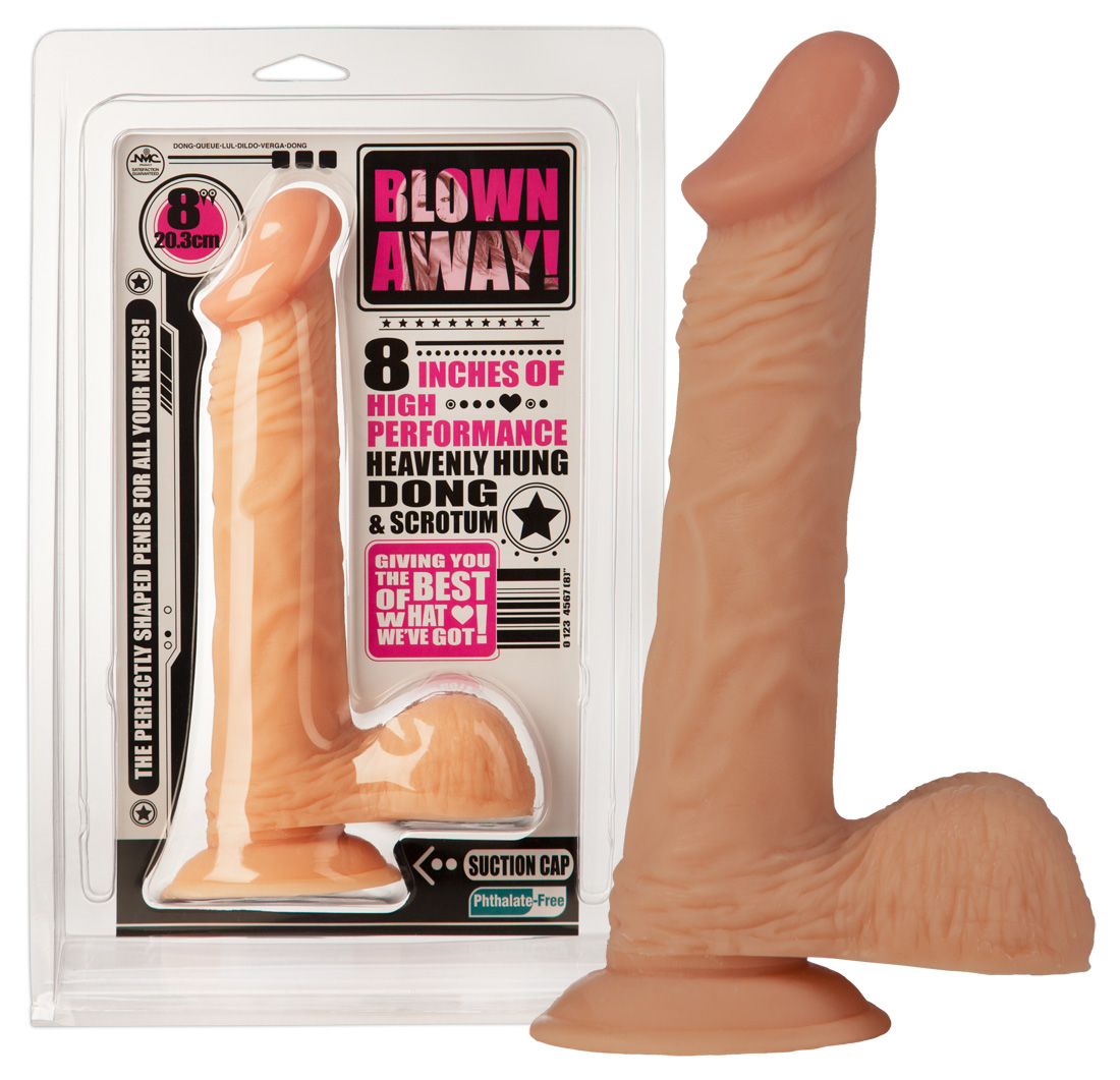 NMC Blown Away - realistické dildo (23 cm)