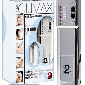 You2Toys Total Climax - vibračné vajíčko strieborné