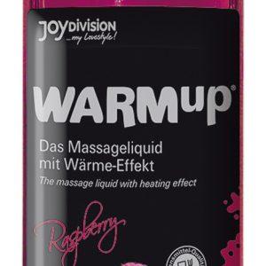JoyDivision Warm Up Rasberry - hrejivý masážný olej malinový (150ml)