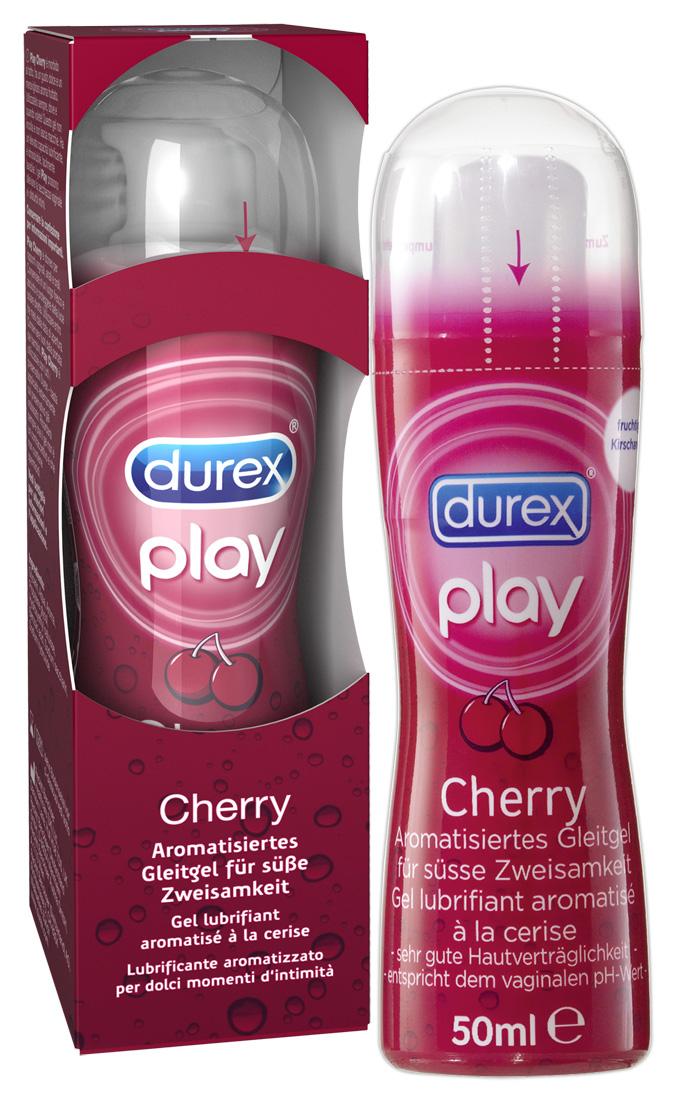 Durex Play - Lubrikačný gél s čerešňovou príchuťou - 50ml