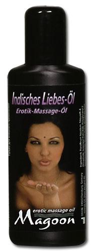 Magoon Indisches Liebes Öl - masážny olej mandľový (50ml)