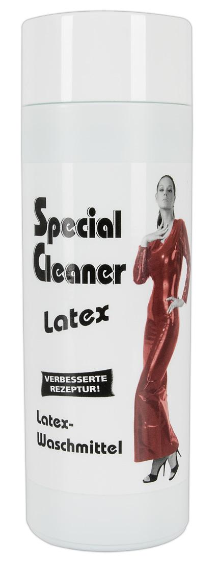 Špeciálny čistiaci prostriedok na latexový odev