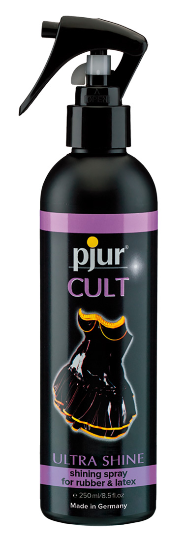 Pjur Cult Ultra Shine - ošetrujúci spray na latex (250ml)