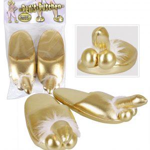 Zlaté papuče - s penisom