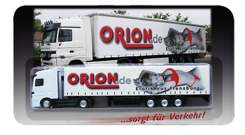 Kuriér erotiky - kamión