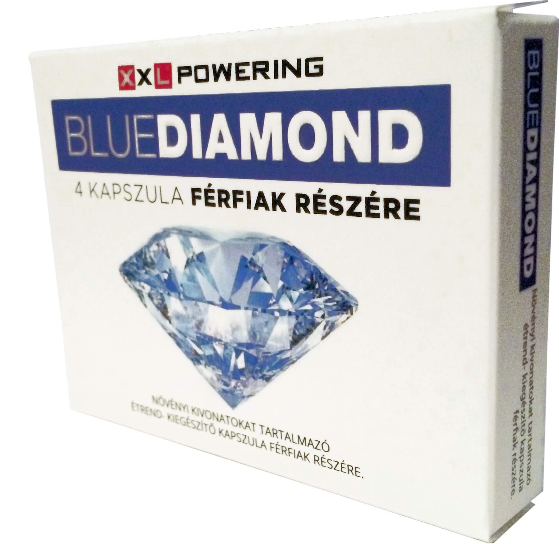 Blue Diamond – výživový doplnok pre mužov (4ks)