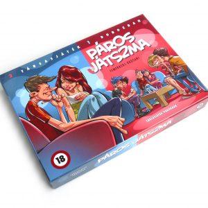 Hra vo dvojici – spoločenská hra pre dospelých (v maďarskom jazyku)