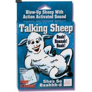 California Exotic Novelties Talking Sheep – bučiaci baránok sex domáce zviera